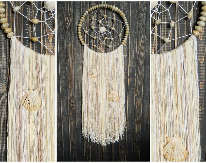 Personalized gift for mom Dream catcher Christmas wall hanging Modern dreamcatcher Home Decor Large dream catcher wall Home living Décor