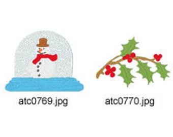 Christmas-Gifts ( 10 Machine Embroidery Designs from ATW ) XYZ17K