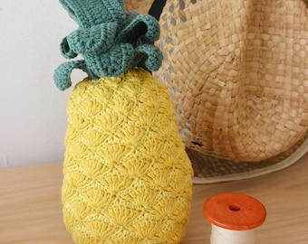 Pineapple crochet to eat!