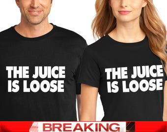 O.J. Simpson Has Been Granted Parole, The Juice is Loose Tshirt, O.J.,