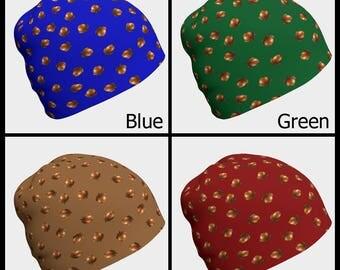 Gypsy Hat, Festival Beanie, Blue Beanie, Green Beanie, Brown Beanie, Red Beanie, Slouch Beanie, Boho, Unisex Beanie, Baby Beanie, Unisex Hat