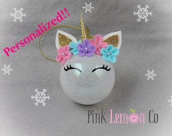 Christmas ornament ,Christmas decoration, unicorn Christmas ornament, unicorn ornament,unicorn, unicorn Christmas ball,unicorn Christmas