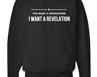 Hamilton Hoodie - You want a revolution