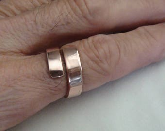 Thick Polished Copper Rings