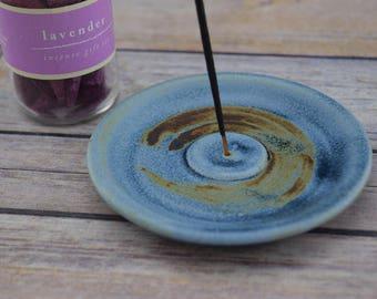 Ceramic Incense Burner, Handmade Incense Holder, Cone Incense, Stick Incense