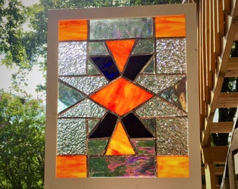 Stained Glass with Frame