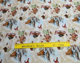 Old World Christmas-Animals-Cotton Fabric from SPX Fabrics