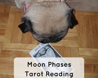 Moon Phases Tarot Intuitive Psychic Reading