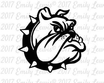 Bulldog SVG - bulldog SVGs - Bulldog Decals - Cut Files - SVGs - Svg Files - Svg Cut Files - Silhouette - cricut - Svg Cuts - cricut Files