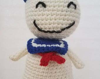 MARSHMALLOW MAN crochet pattern