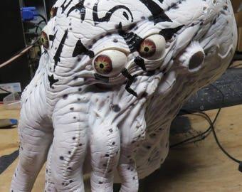 Painted Chuthulu Mask- Wearable