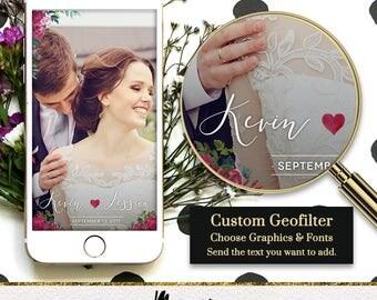 Custom Snapchat Geofilter Roses / Wedding Snapchat Filter Wedding Snapchat Geofilter Bachelorette Snapchat Bridal Party filter Engagement