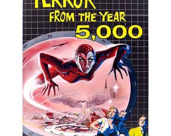 Terror From The Year 5000 Movie Poster Art - Vintage Print Art - Home Decor - Movie Theater Poster