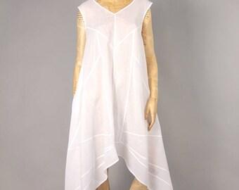WHITE DRESS STRAP