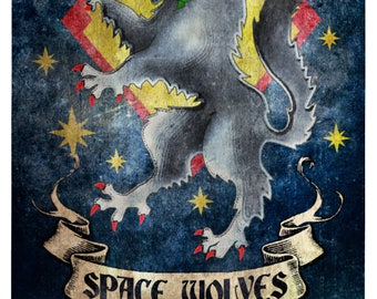 Space Wolves Banners Warhammer 40k I...