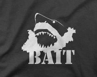Shark T-shirt - White Shark Tee - Surf - Australian Wildlife Shirt - Australian T-shirt - Hawaiian Shirt - Hawaiian Animal T-shirt