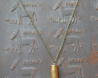 Bullet Casing Necklace