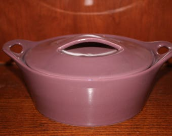 Plum Baking Dish