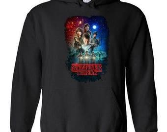 Stranger Things Tv Show/Sci Fi/ Netflix Series , v7, Hoodie S - 5XL