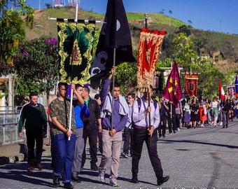 Processional Banner - Saints