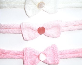 Baby Headband, Girls Headband, Newborn Headband, Baby Girl Bow, Girls Hair Bow
