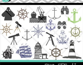 Anchor Silhouette Studio,Ship svg,Anchor svg,Nautical svg,Lighthouse svg,Sailing,Clipartsvg,cut files,Digital download,Designs,svg,dxf files