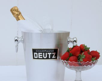 French champagne bucket - Deutz
