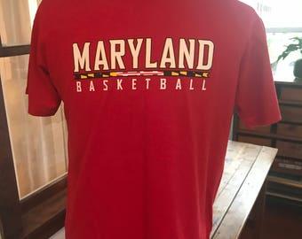 University of Maryland Basketball T Shirti
