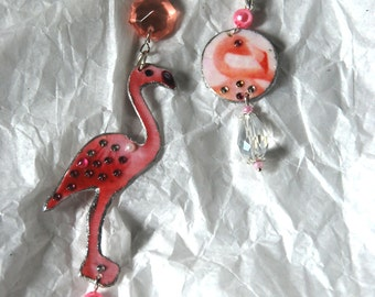 "Orecchini ""Fenicottero"" - ""Flamingo earrings"""