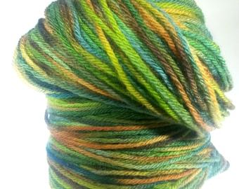 CATSKILLS, Hand Dyed Variegated Dk Yarn, Hand Dyed Merino Yarn, Indie Dyed Merino, Hand Dyed Yarn, Indie Dyed Yarn