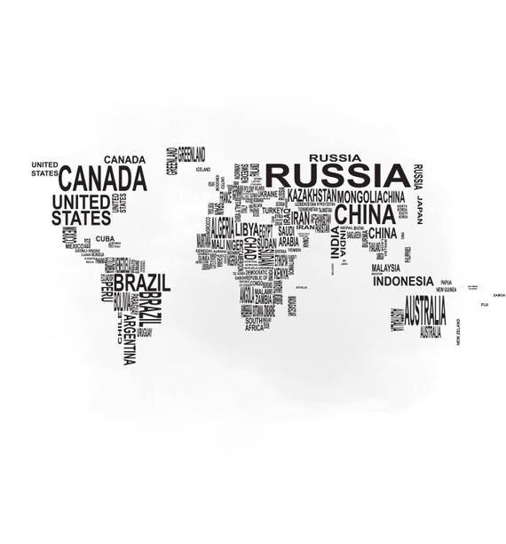Text world map svg clipart international world map svg vector te gusta este artculo gumiabroncs Choice Image
