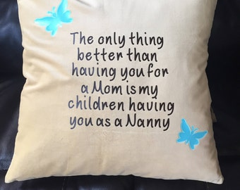 Mom & Nanny Pillow
