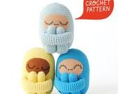Curlie Crochet Pattern | Tiny Curl Amigurumi Pattern, Crochet Doll Pattern