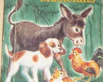 1960 Vintage Book - The Bremen Town Musicians