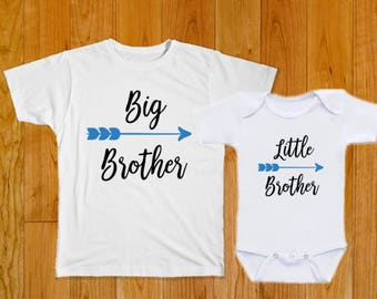 Big Brother Little Brother Shirts - Matching Shirts - Big Brother Shirt - Little Brother Shirt - Matching Brother Shirts - Baby Brother