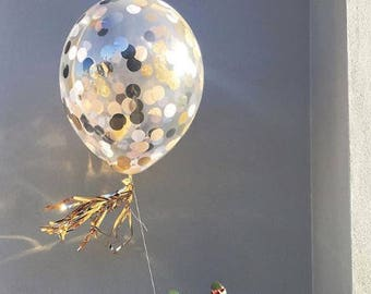 Custom 46cm Medium Confetti Balloon