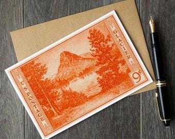 glacier national park cards, national parks, glacier park birthday card, national park cards, glacier park montana, montana retirement cards