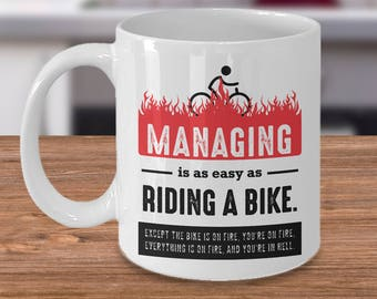 Funny boss gift etsy manager gift manager coffee mug gag gift funny boss mug funny boss negle Choice Image