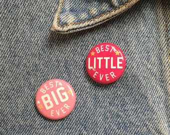 Big & Little Button Set