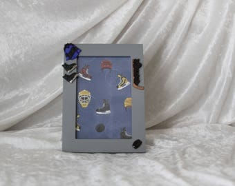 Hockey - Blue - Picture Frame
