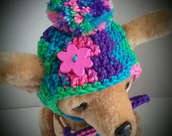 Small Dog hat, Chihuahua hat, Yorkie hat, + Free Shipping