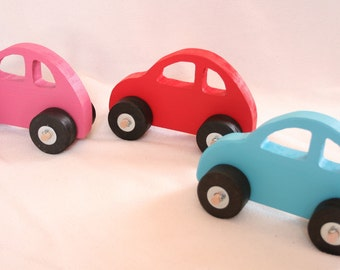 Handcrafted Original Wooden Toy Car