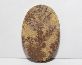 40% off  Psilomelane- Dendritic Limestone cabochon 40X27X5 mm Size, Oval Shape Gemstone Cabochon, +++ AAA Quality Gemstone Pdf#1800