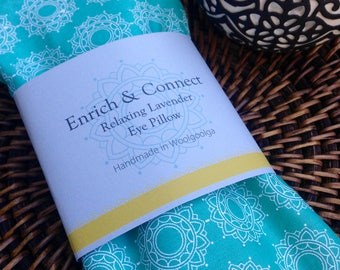 Relaxing Lavender & Linseed Eye Pillows