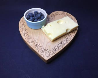 Heart Shape Chopping Board