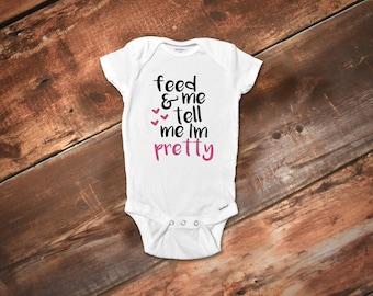 Funny Baby Onesies®, Baby Girl Onesies®, Cute Baby Girl Onesies®, Baby Girl Clothes, Funny Baby Clothes, Baby Shower Gift, Girl Gift