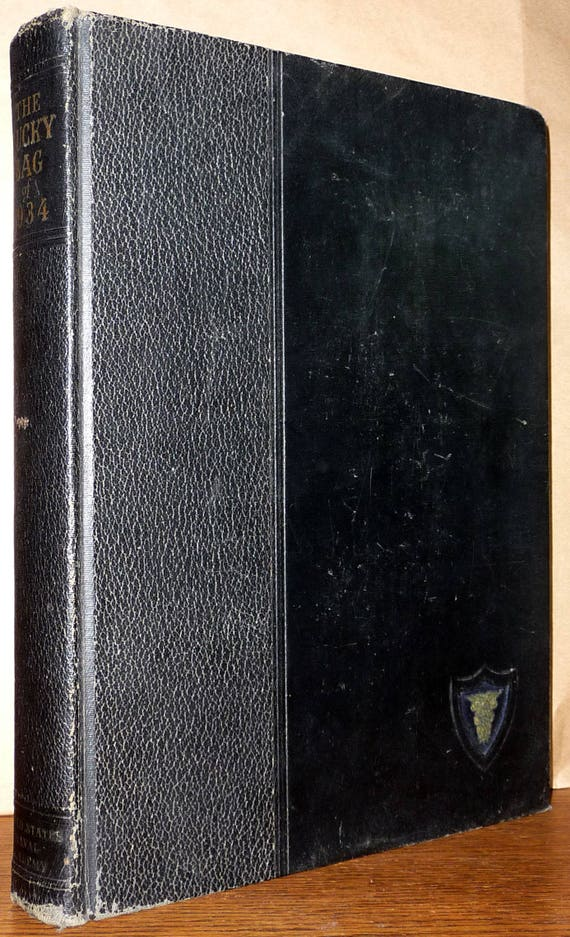 United States Naval Academy Yearbook (Annual) 1934 - The Lucky Bag, Annapolis, Maryland MD