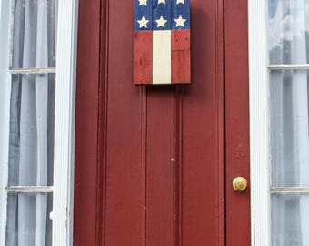 American Flag, Flag Decor, 4th of July, Rustic, Barn wood, Home Decor, Farmhouse, Labor Day, Memorial Day, Stars and Stripes, Decor, Outdoor