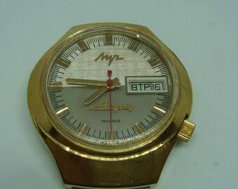 LUCH soviet watch retro collectible watch