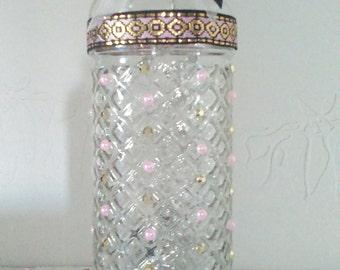 """Jalila"" bottle lamp."